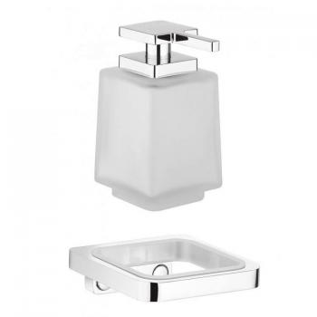 Crosswater Wisp Soap Dispenser With Wall Holder