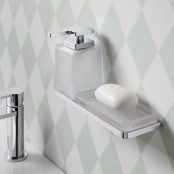 Crosswater Wisp Soap Dispenser With Soap Dish Holder