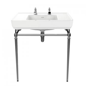 Heritage Wynwood Basin & Chrome Washstand