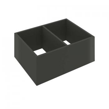 Bauhaus Zion Two Division Internal Drawer Organiser