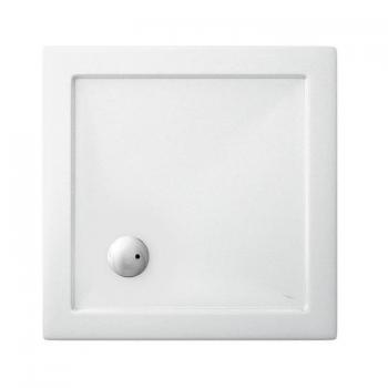 Zamori 1000 x 1000mm Square 35mm Shower Tray & Waste