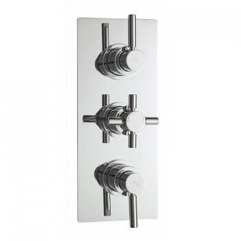 Hudson Reed Tec Pura Triple Concealed Thermostatic Shower Valve