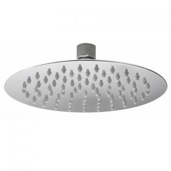 Hudson Reed Slim 200mm Stainless Steel Round Fixed Shower Head