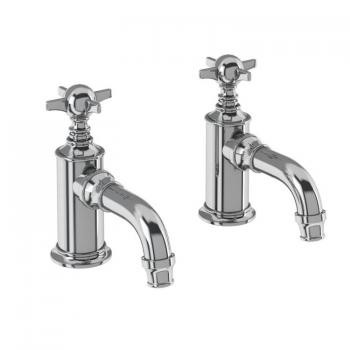 Arcade Chrome Cloakroom Basin Pillar Taps