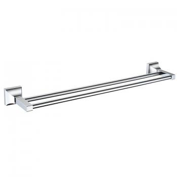 Heritage Chancery Chrome Double Towel Rail