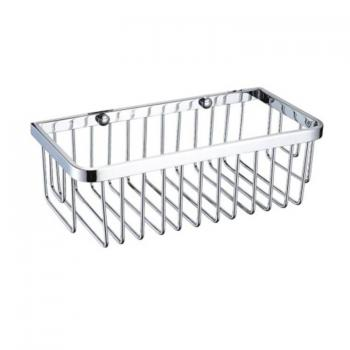 Heritage Rectangle Chrome Wire Basket