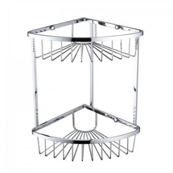 Heritage 2 Tier Chrome Wire Basket