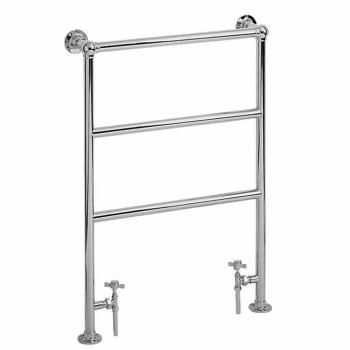 Heritage Victorian Chrome Heated Towel Rail