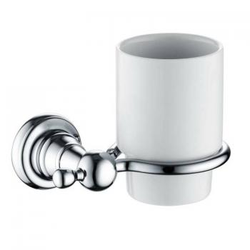 Heritage Holborn Chrome Tumbler & Holder