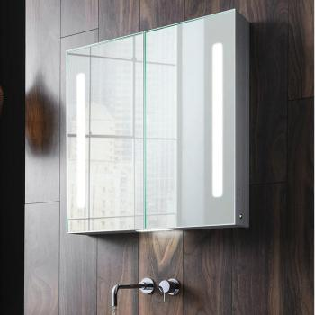 Bauhaus Allure 700 LED Illuminated Mirror Cabinet