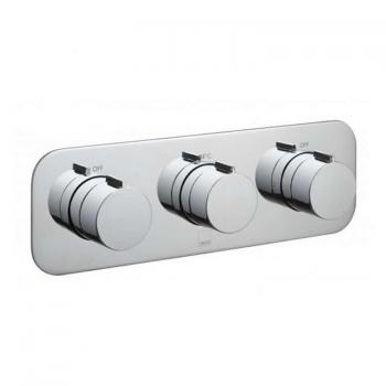 Vado Altitude Triple Dual Outlet Landscape Thermostatic Shower Valve