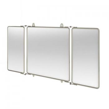 Arcade Three Fold Nickel Mirror