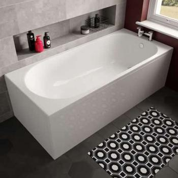 The White Space Arnold 1480 x 680mm Single Ended Bath
