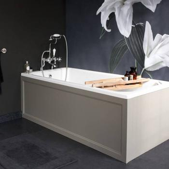 Burlington Arundel Cleargreen 1700 x 700mm Single Ended Bath