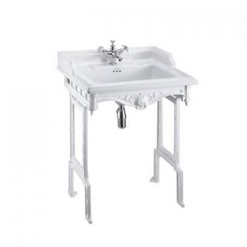 Burlington Classic Basin With White Aluminium Wash Stand