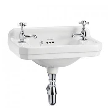 Burlington Edwardian Wall Mounted Cloakroom Basin