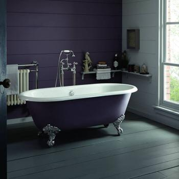 Heritage Grand Buckingham Freestanding Cast Iron Roll Top Bath