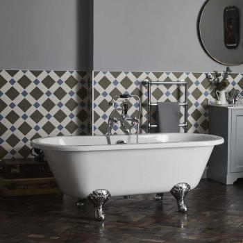 Bayswater Leinster 1700mm Double End Freestanding Bath & Feet