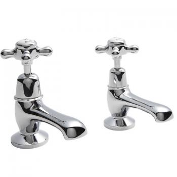 Hudson Reed Topaz Basin Taps With Dome Collars