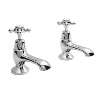 Hudson Reed Topaz Bath Taps With Dome Collars
