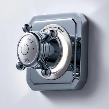Crosswater Belgravia Crosshead Single Outlet Digital Shower Valve - High Pressure