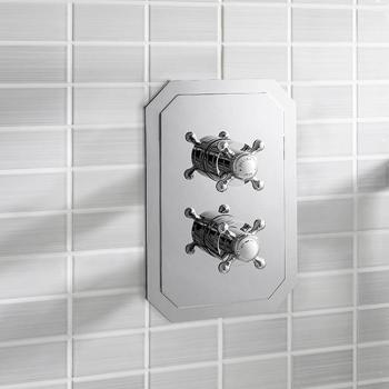 Crosswater Belgravia Crosshead 1500 Thermostatic Shower Valve With 2 Way Diverter