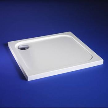 Blu-Gem2 760mm x 760mm Square Shower Tray & Waste