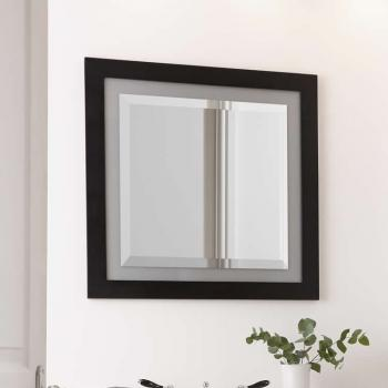 Imperial Broadway Mirror With Opaque Glass Border