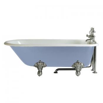 Heritage Essex Cast Iron Roll Top Freestanding Bath & Feet