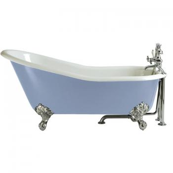 Heritage Hampshire Cast Iron Slipper Freestanding Bath & Feet