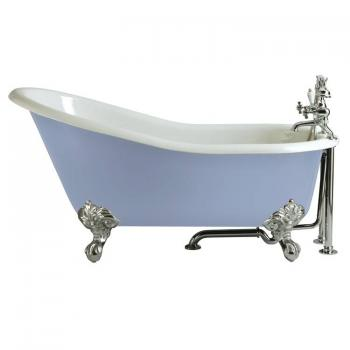 Heritage Kent Cast Iron Slipper Freestanding Bath & Feet