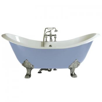 Heritage Devon Bath Cast Iron Double Ended Slipper Freestanding Bath