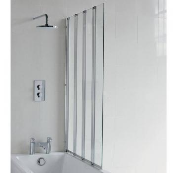 Britton Cleargreen Four-Fold Bath Screen