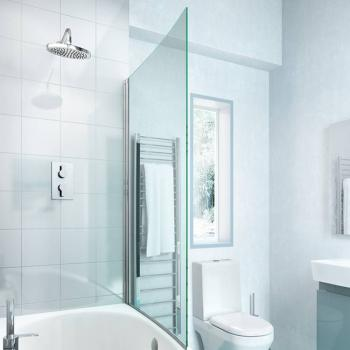 Britton Cleargreen EcoCurve Bath Screen