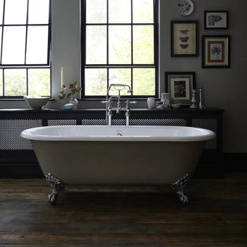 Heritage Buckingham Freestanding Cast Iron Roll Top Bath
