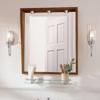 Imperial Canterbury Medium Mirror With Lights