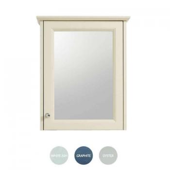 Heritage Caversham Single Door Mirrored Wall Cabinet