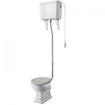 Old London Richmond Comfort Height High Level WC & Cistern