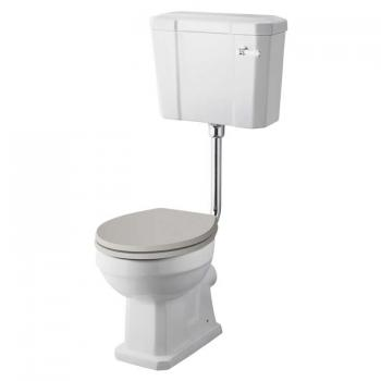 Old London Richmond Comfort Height Low Level WC & Cistern