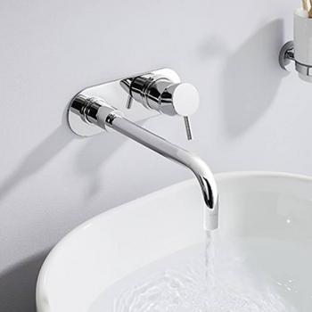 Crosswater Central Wall Mounted Basin 2 Hole Set