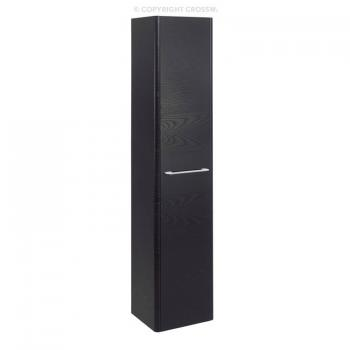 Bauhaus Celeste Black Ash Tower Storage Unit