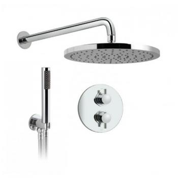 Vado Celsius Concealed Twin Outlet Thermostatic Shower Valve Package