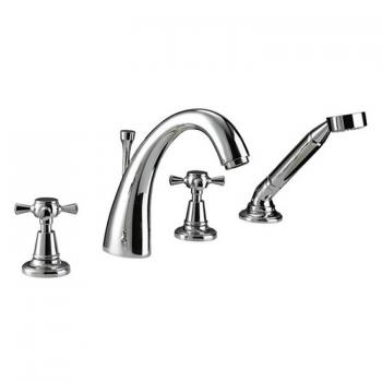Imperial Cisne 4 Hole Bath Filler
