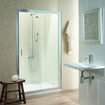 Simpsons Classic Single Sliding Shower Door