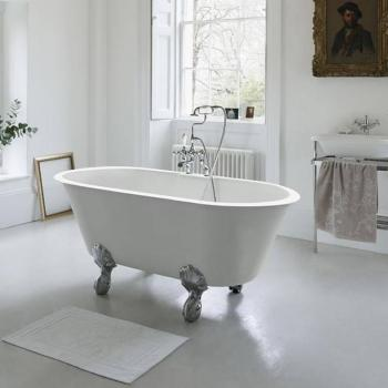 Clearwater Classico Grande Clear Stone Freestanding Bath & Feet