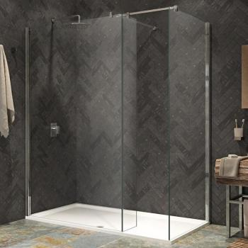 Kudos Ultimate2 1600mm Walk In Shower Enclosure & Tray