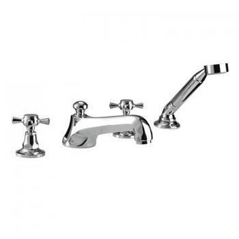 Imperial Cou 4 Hole Bath Filler With Handset Kit
