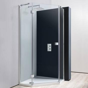 Simpsons Design 900 x 900mm Pentagon Shower Enclosure