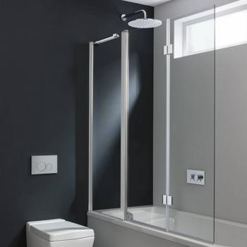 Simpsons Design Triple Bath Screen