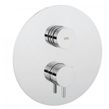 Crosswater Dial Shower Valve 1 Control With Kai Lever Round Trim